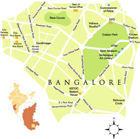 BANGALORE MAP PDF DOWNLOAD