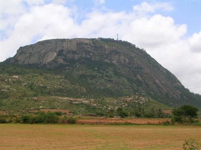 Base of Nandi Hills near  Bengaluru