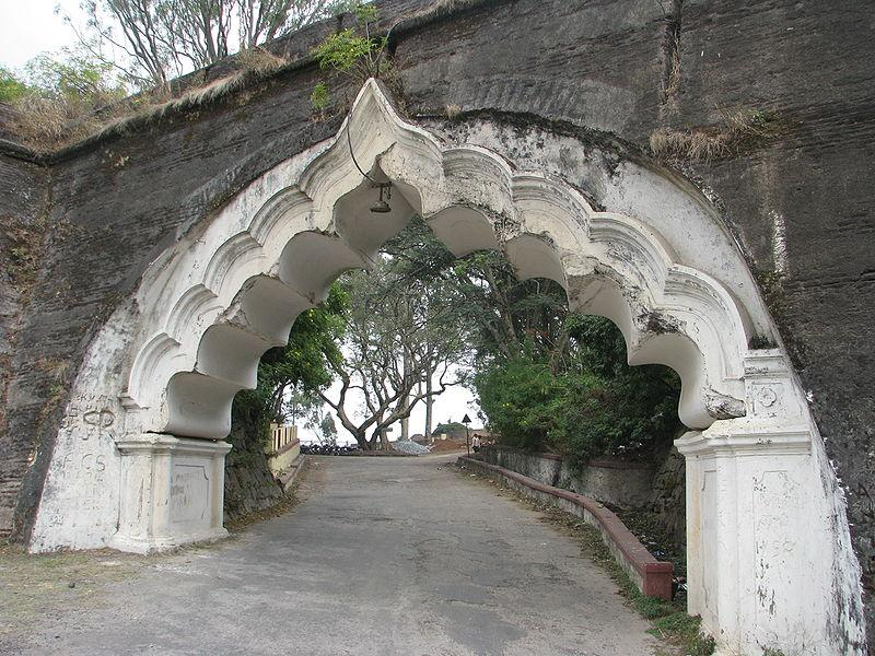 Entrance of the Fort at Nandi Hills near  Bengaluru