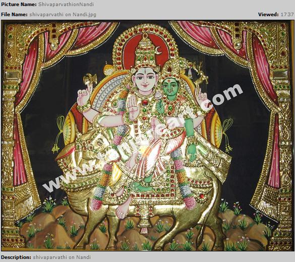 Tanjore paintings,Themes of Tanjore art,Painters of Tanjore art in